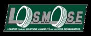 logo losmose location solutions de mobilité sur sites événementiels