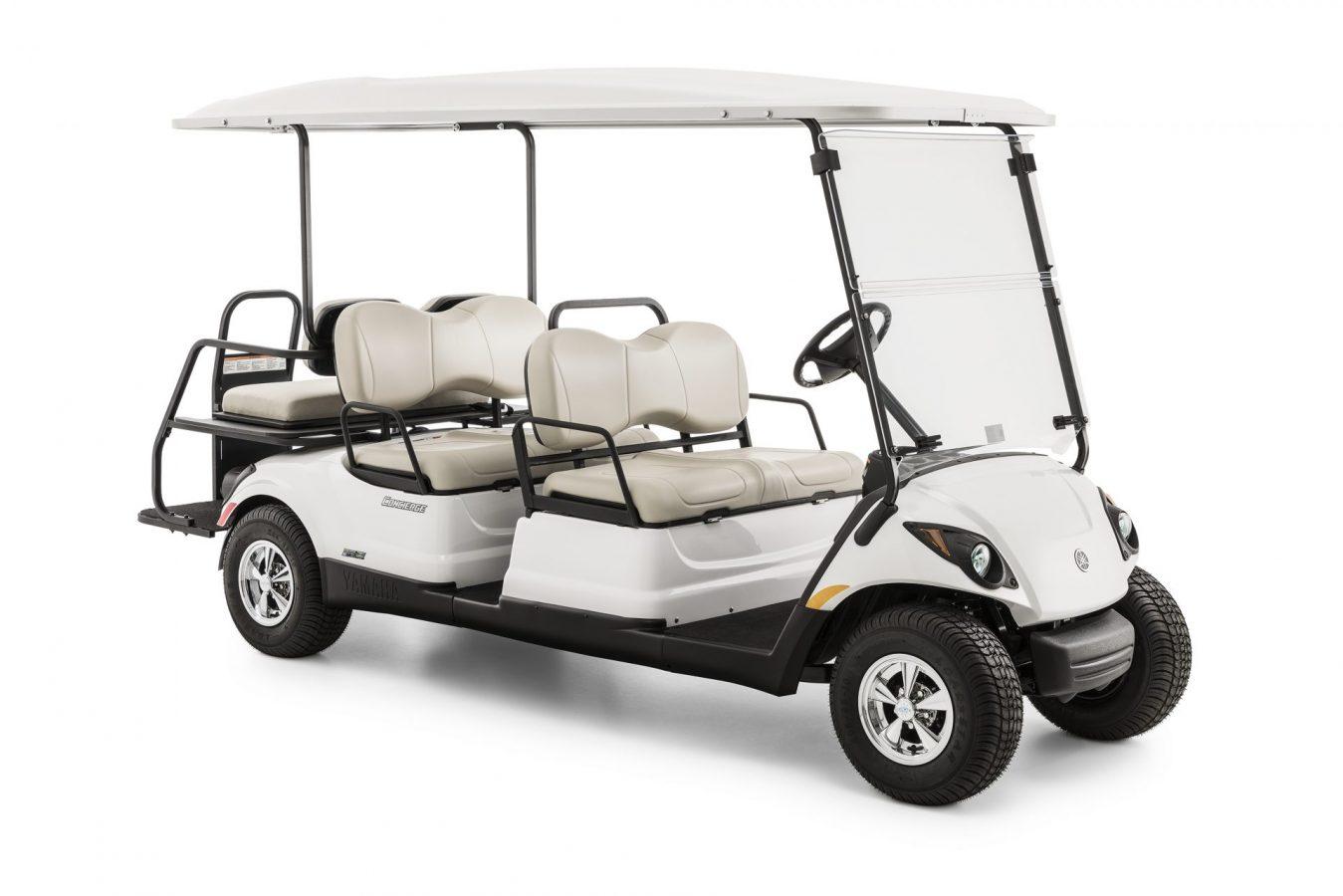 voiturette de golf yamaha concierge 4 blanche