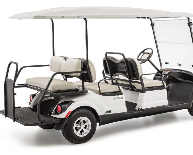 voiturette de golf yamaha concierge 4/6 places blanche