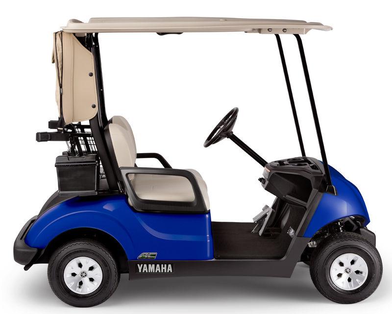 voiturette de golf yamaha drive 2 bleue